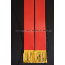BLANK 1.5m RED Stole Sash (DIY)
