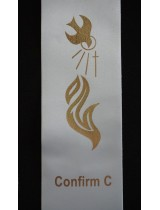 BYO STOLE : Confirmation PRINT MOTIF C to Existing Sash (Standard Size)