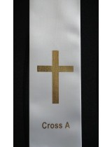 BYO STOLE : Cross PRINT MOTIF A to Existing Sash (Standard Size)
