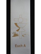 BYO STOLE : Eucharist PRINT MOTIF A to Existing Sash (Standard Size)