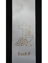 BYO STOLE : Eucharist PRINT MOTIF F to Existing Sash (Standard Size)