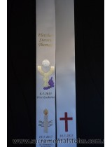 EUCHARIST First Holy Communion Stole Sash Personalised Style1