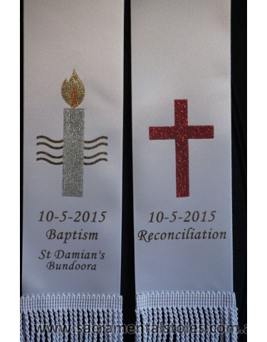 RECONCILIATION Stole / Sash Style1A Personalised