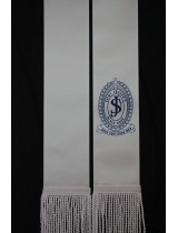 SCHOOL / PARISH LOGO 1.5m WHITE Stole Sash